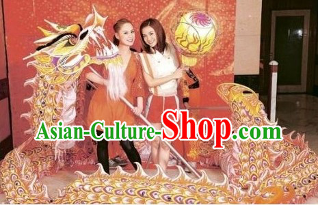 Chinese New Year Supreme Luminous Supreme Dragon Dance Equipment Complete Set