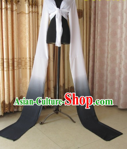 Traditional Chinese Long Sleeve Water Sleeve Dance Suit