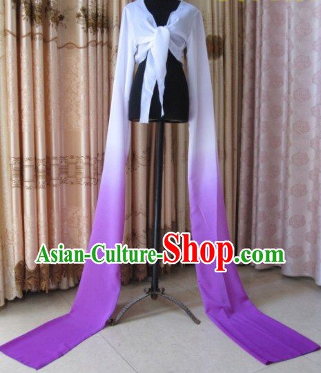 Traditional Chinese Long Sleeves Water Sleeves Dance Costume