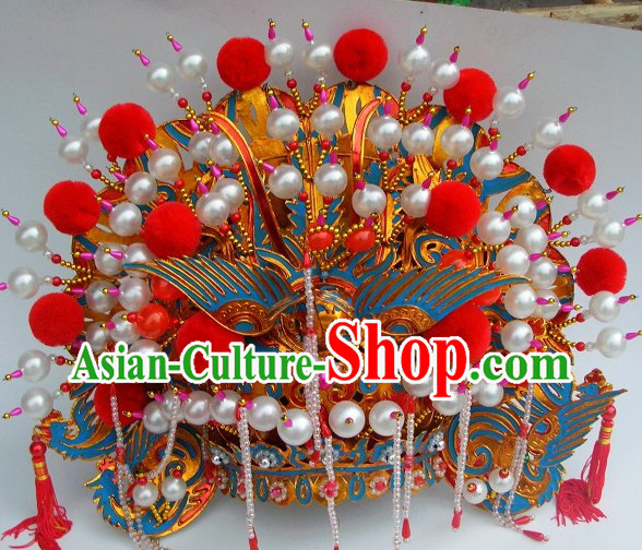 Chinese Traditional Phoenix Crown Headgear for Women