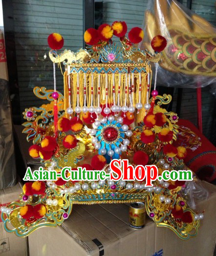 Chinese Legend Fairytale Jade Emperor Crown for Men