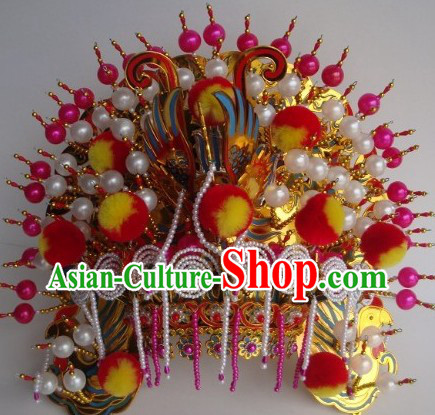 Chinese Traditional Noblewoman Phoenix Crown Headwear