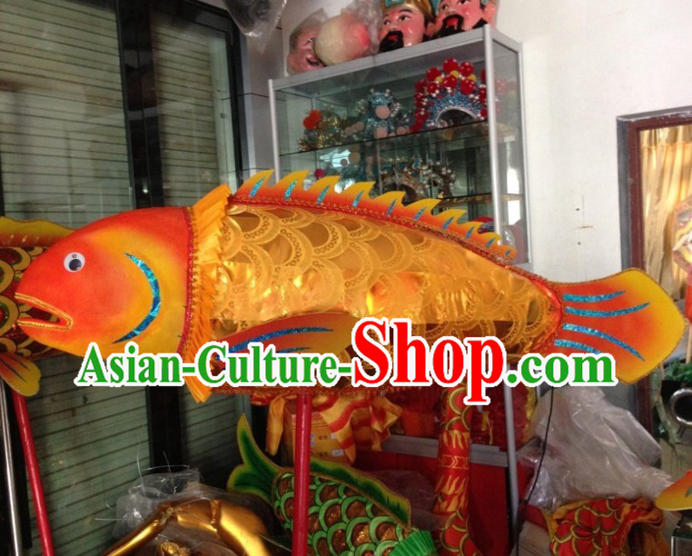 Traditional Chinese Lunar New Year Display Carp Dance Costume