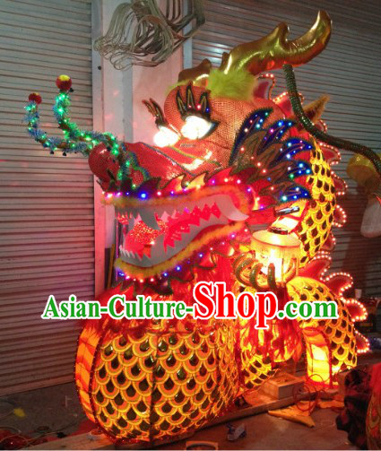 Display and Parade Chinese New Year Shopping Malls or Museums Use Dragon Dance Arts and Crafts
