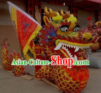 Show Performance and Parade Chinese New Year Stool Dragon Dancing Costumes Arts and Crafts