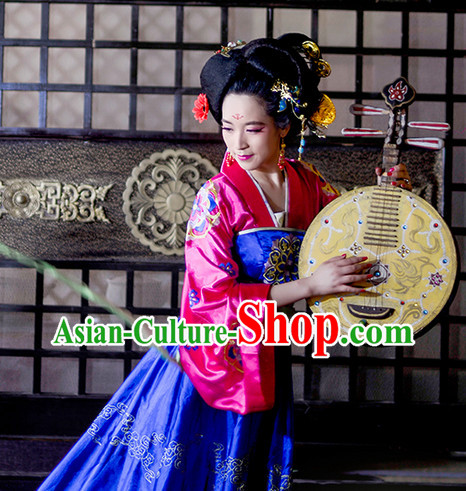 Tang Dynasty Imperial Beauty Clothing Complete Set