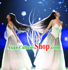 Chinese Modern Stage Performance Dance Costumes for Women