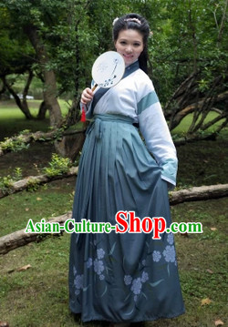 Ancient China Han Dynasty Skirt Dresses for Women