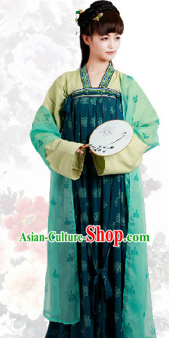 Ancient China Tang Dynasty Clothes