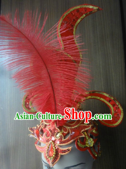 Professional Feather Headpieces for Dancers