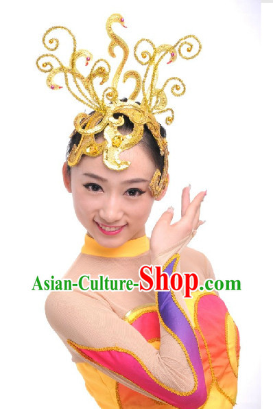 Professional Chinese Modern Dance Headwear