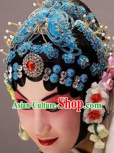 Ancient Chinese Opera Hair Accessories 44 Pieces Set