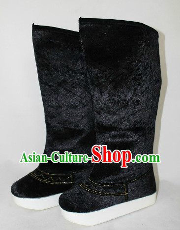Ancient Chinese Guzhuang Hanfu Boots