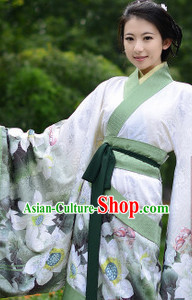 Ancient Chinese Traditional Hanfu Clothes for Women