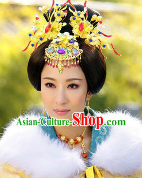 Ancient Chinese Imperial Empress Headgear