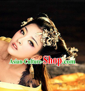Chinese Traditional Handmade Headwear for Girls