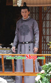 Ancient Tang Dynasty Bodyguard Costumes for Men