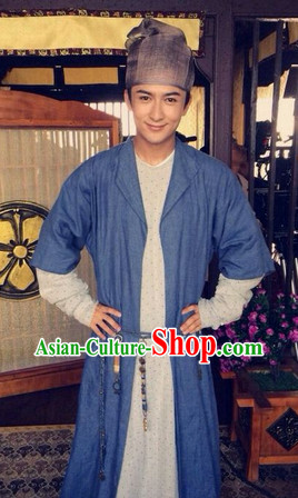 Ancient China Hanfu Robe Set for Men