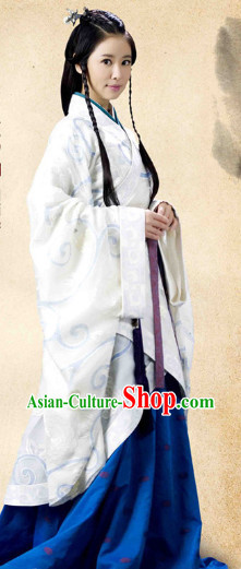 Traditional Chinese Hanfu Clothing Complete Set for Women