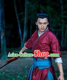 Ancient Chinese Knight Clothes for Men
