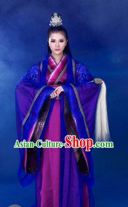 Traditional Chinese Wu Mochou Chivalrous Girl Costumes