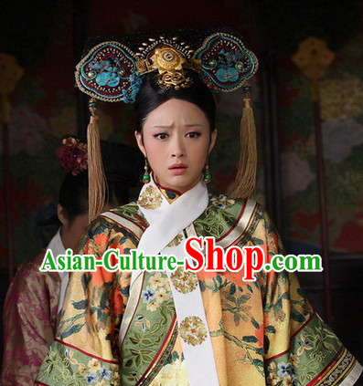 Palace Dress of Qing Dynasty Empress