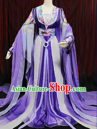 Ancient Chinese Tang Dynasty Princess Clothes Complete Set
