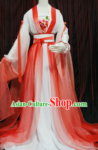 Ancient Chinese Han Dynasty Suit
