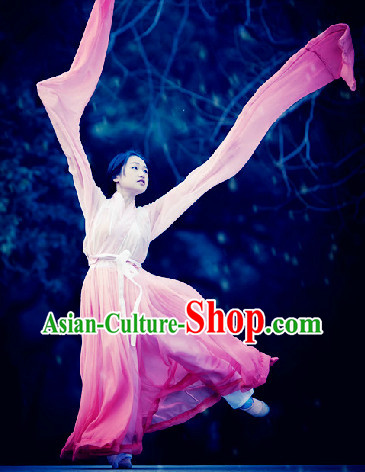 Long Water Sleeve Classical Dancing Costumes Complete Set for Women