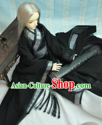 Black Prince Mucisian Costumes Full Set