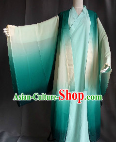 Traditional Green Han Fu Dresses for Men
