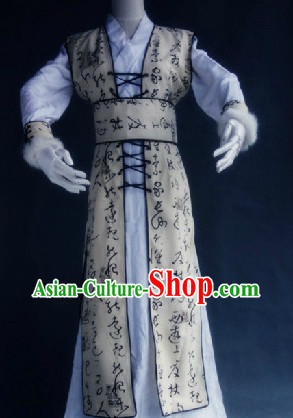 Traditional Confucian Scholar Costumes for Men