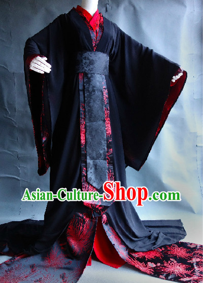 Ancient China Male Clothing Complete Set for Boys
