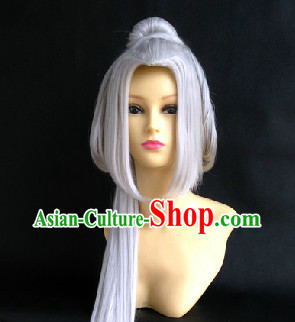 Chinese Classical Long Wig