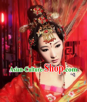 Chinese Classical Wedding Bridal Hair Accessories