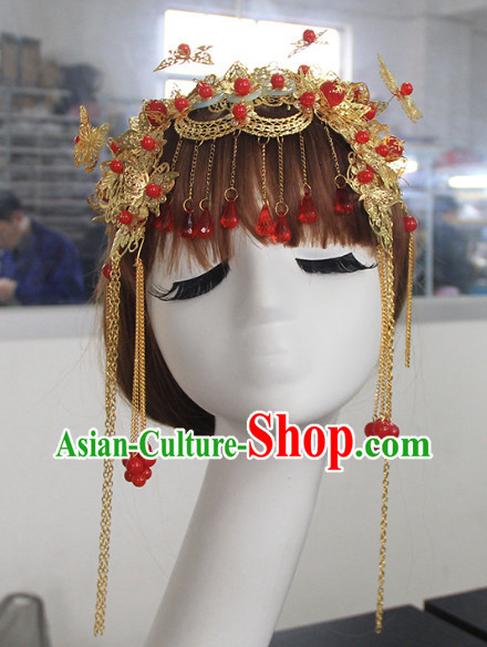 Chinese Classical Wedding Bridal Headwears