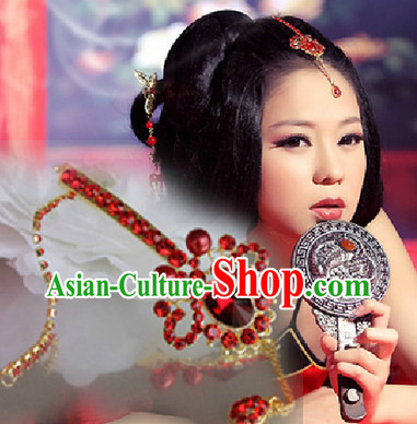 Chinese Classical Wedding Guzhuang Bridal Hair Ornament