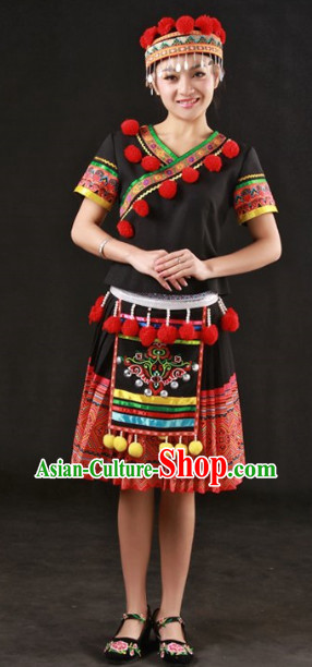 Yao Ethnic Minority Clothing Complete Set
