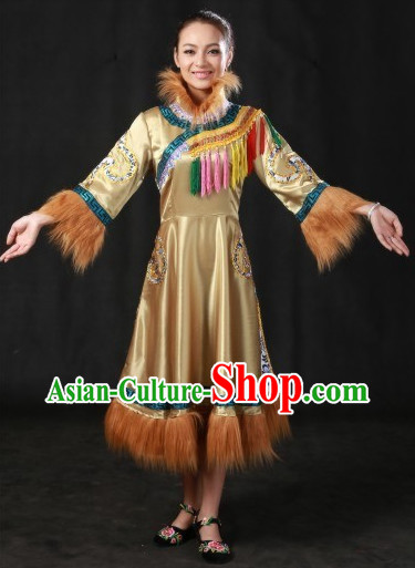 Ewenki Ethnic People Costumes for Women