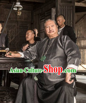 Chinese Kung Fu Master Big Boss Traditional Costumes
