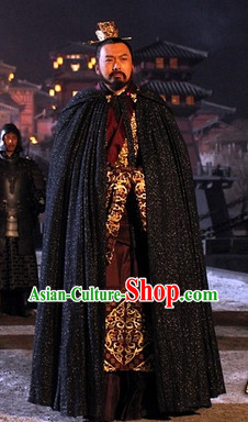 Imperial Palace Official Costumes and Coronet Complete Set for Men