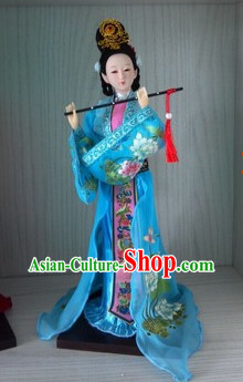 Handmade Beijing Silk Figurine Doll - Ancient Chinese Beauty 2