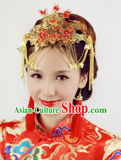 Chinese Classical Wedding Phoenix Coronet