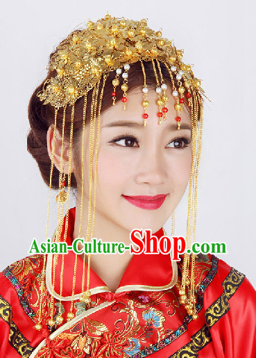 Chinese Classical Wedding Hair Decoration