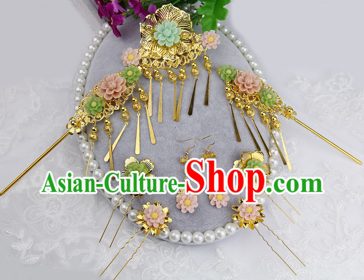 Traditional Asian Handmade Headwear