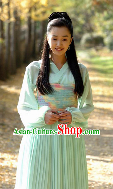 Ancient Korean Girl Costumes Complete Set