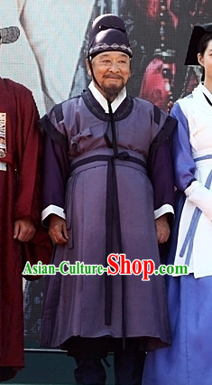 Korean Traditional Top Official Clothes and Hat