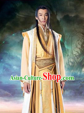 Chinese Traditional Kung Fu Hanfu Garment for Men