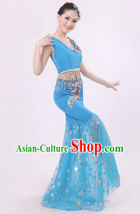 Peacock Dance Costumes for Women