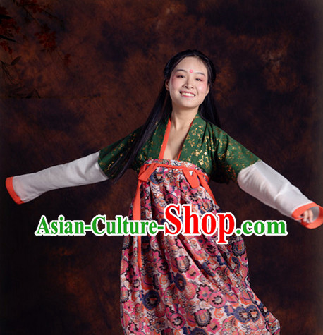Made-to-measure Traditional Tang Garment Complete Set for Women